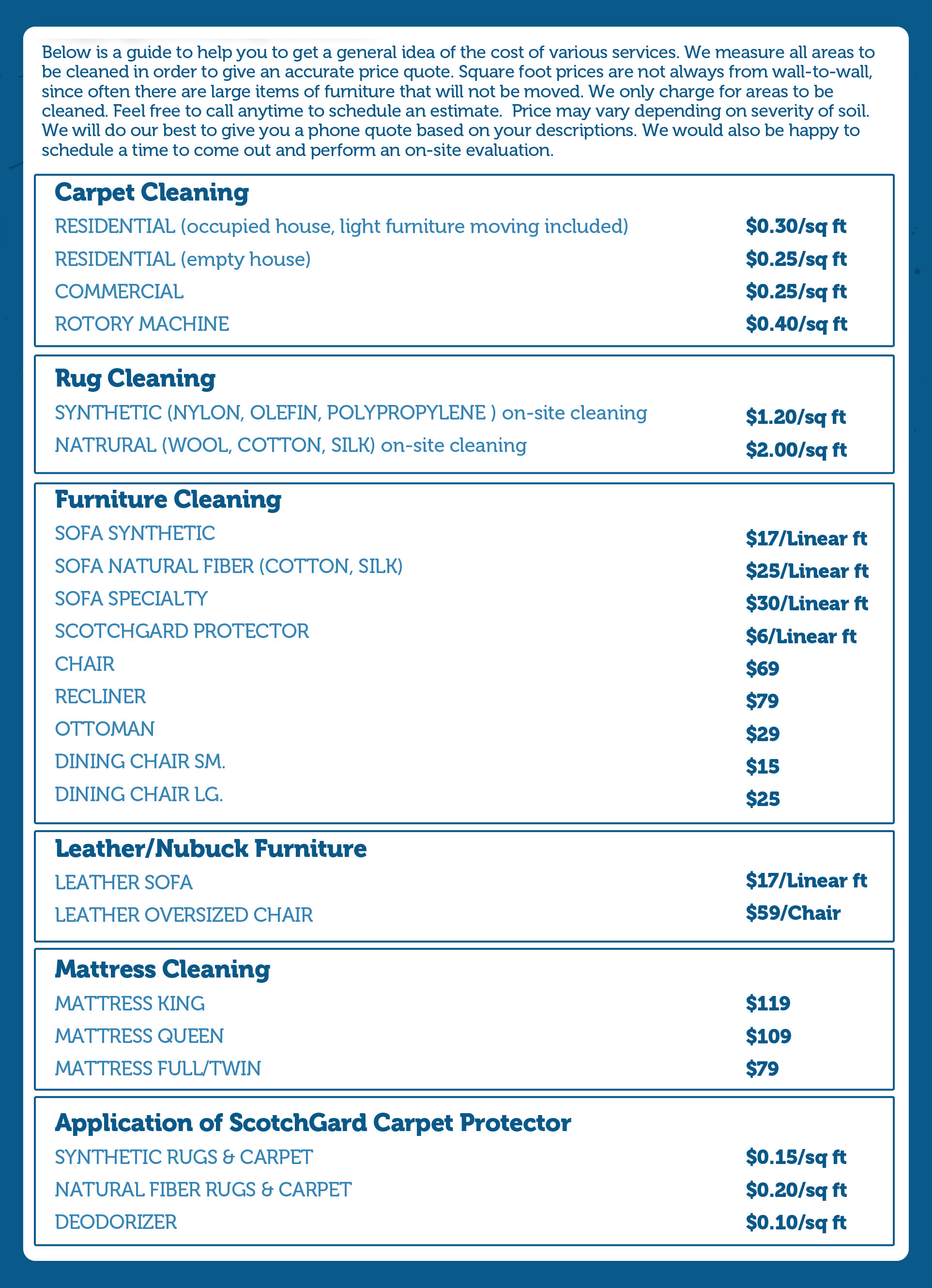 How Much To Charge For Carpet Cleaning Services - Carpet ...